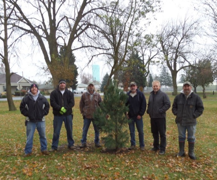 Tree City USA Ritzville received a planting grant in 2013 that helped replace trees lost in a severe fall storm.